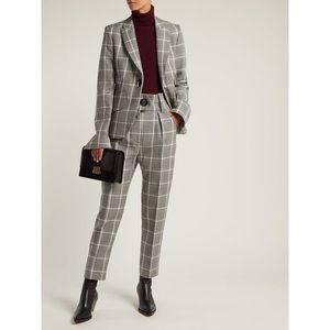 Petar Petrov Hayden Checked blazer and pants suit